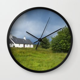 Deep in the Heart of Glencoe Wall Clock