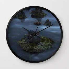 Ice and stones Wall Clock