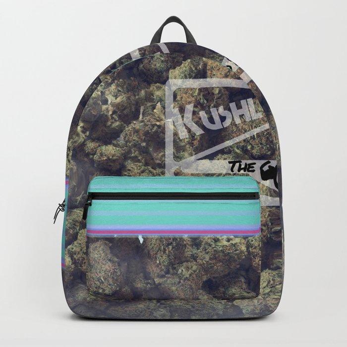 Kushloc Bag Of Weed Backpack By Momoportfolio