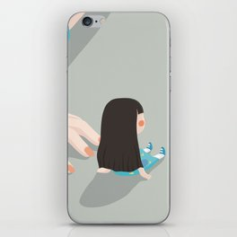Nothing needs to be said iPhone Skin