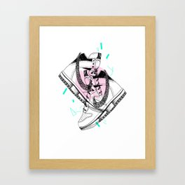 Kicks Framed Art Print