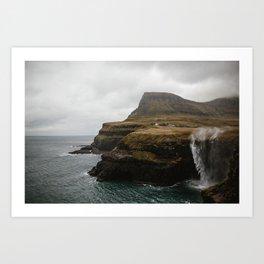 Faroe Islands Art Print