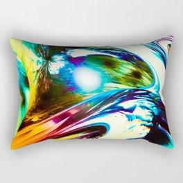 """Speed Unleased"" Rectangular Pillow"