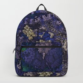 Destroyer Blue Gold Backpack