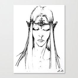 Sylvan Elf Canvas Print