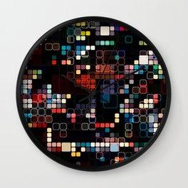 Colorful Geometric Graphic Wall Clock