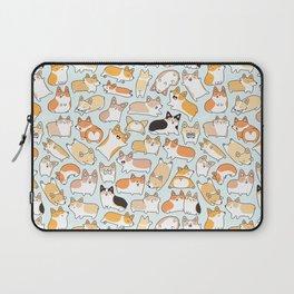 Corgilicious Corgi Doodle Laptop Sleeve