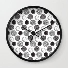 Exotic circles Wall Clock