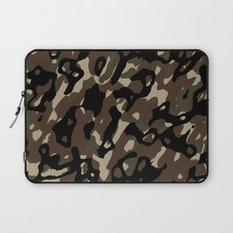 Camouflage Abstract Laptop Sleeve