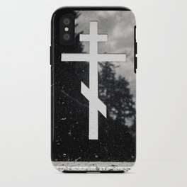 Orthodox headstone iPhone Case