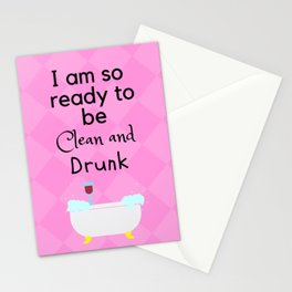 A Night In Stationery Cards