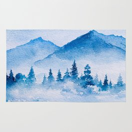 Winter scenery #15 Rug
