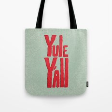 Yule Y'all Tote Bag