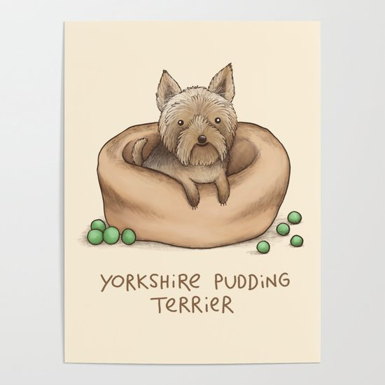 Yorkshire Pudding Terrier by sophiecorrigan