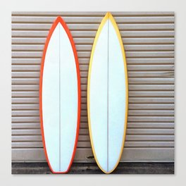 Surfin' Canvas Print