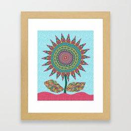 Fabby Flower-Eden colors Framed Art Print