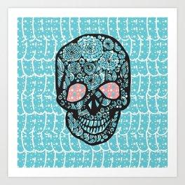 TheSkull Art Print