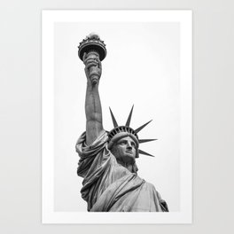 The Statue of Liberty in New York City 3 Art Print