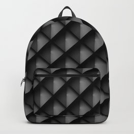 Dark Metal Scales Backpack