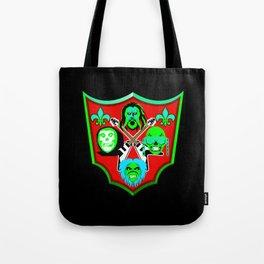 Tribute to Metal Icons Tote Bag