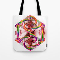 matrix Tote Bags featuring Matrix by Brian Raggatt