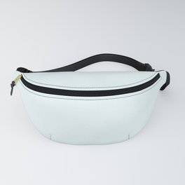 Glass Solid Color Block Fanny Pack