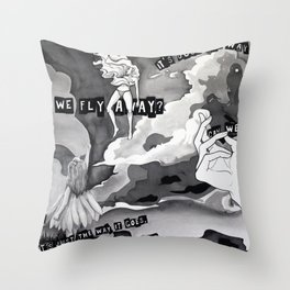 It's Just the Way It Goes Throw Pillow