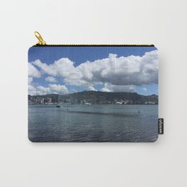 Wellington Harbour Fountain Carry-All Pouch