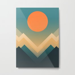 Inca Metal Print
