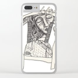 Three Sleepers - Chair Clear iPhone Case