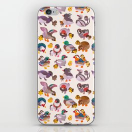 Duck and Duckling iPhone Skin