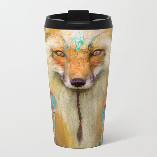 Wise Fox Metal Travel Mug