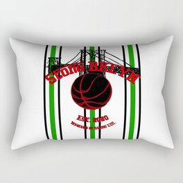 Stone BKLYN Est. 2020 Rectangular Pillow
