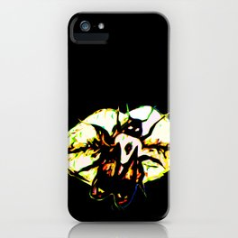 The Bee Word iPhone Case