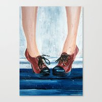 heels Canvas Prints featuring Heels by MardyArts