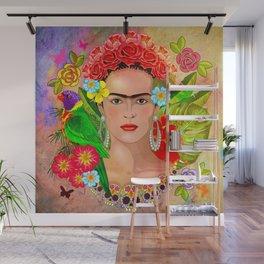 Frida Kahlo 3 Wall Mural
