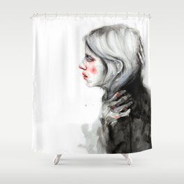 I need protection Shower Curtain