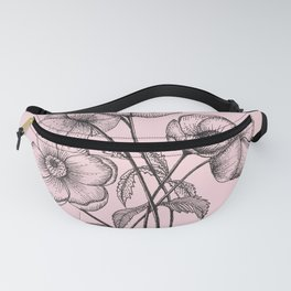 Palid Flowers  Fanny Pack