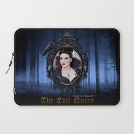 The EvilQueen Poster Laptop Sleeve