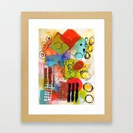 Swirling Around... Framed Art Print
