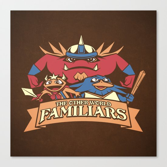 The Other World Familiars Canvas Print