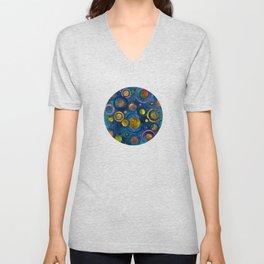 Full of Golden Dots - color variation Unisex V-Neck