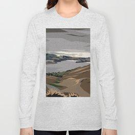 Cass Bay, New Zealand Long Sleeve T-shirt
