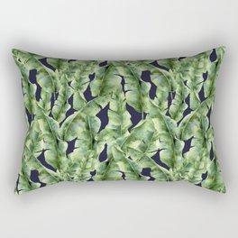 Tropical Vibes. Watercolor Rectangular Pillow
