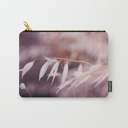 Tiny White Leaves Photography Print Carry-All Pouch