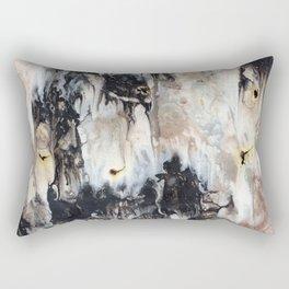 Splatterd Rorschach Rectangular Pillow