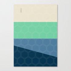 Geo Block No. 3 Canvas Print