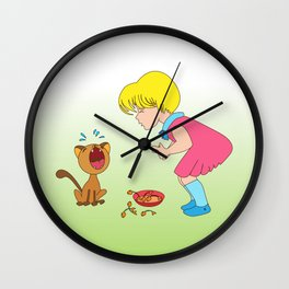 Why am I late Wall Clock