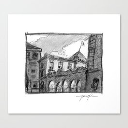 Portland Customs Building Canvas Print