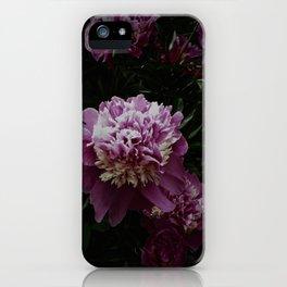 Peony 8 iPhone Case